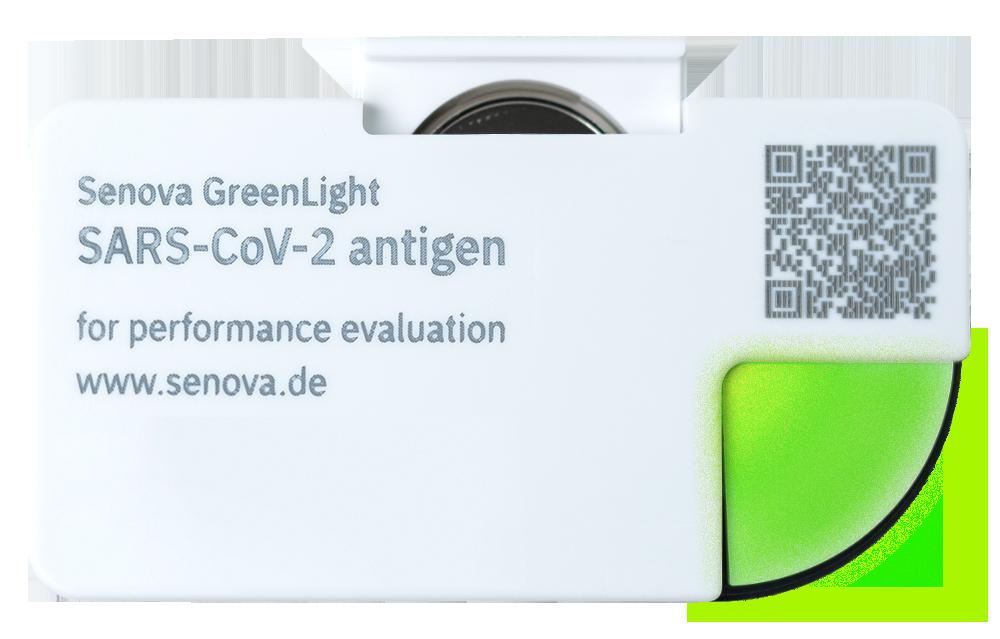 Senova GreenLight digitaler COVID-19-Schnelltest